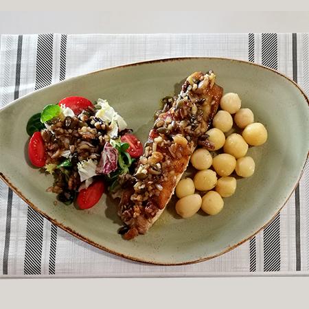 Menú del día cocido