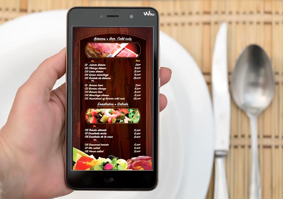 Ver la carta de tu restaurante en el móvil con código QR